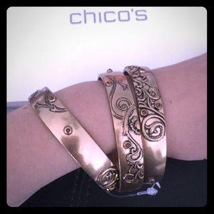✨Beautiful✨ NWT Chico's Bangle Bracelets (3)